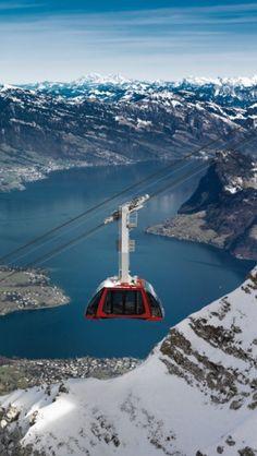 Kriens (Kanton Luzern) - Pilatus cableway / Seilbahn / téléphérique
