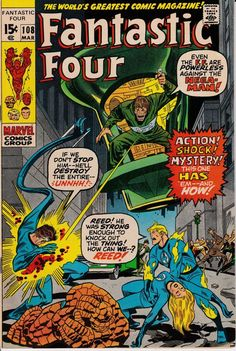 Fantastic Four 108  March 1971 Issue  Marvel Comics by ViewObscura