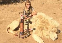 Hey, Kendall Jones: hunting animals does not 'help' them - Comment - Voices - The Independent