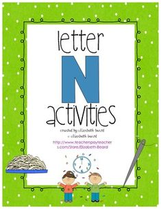 Letter N Activities-Preschool and Kindergarten