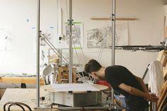 Robots That Create Art: Harvey Moon's Drawing Machines | The Creators Project - Memory/tourist bus