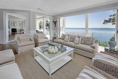 Beach Style Modular Homes Nc Beach Style Cottage Plans Home, House Styles, House Design, Beach House Interior, Home And Living, Coastal Style Living Room, Living Decor, House Interior, Hamptons Style Homes