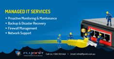 Wondering how our #ManagedIT Services can be beneficial for your business? - #Flyonit