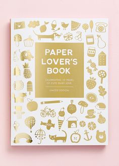 Get creative with this Paper Lover's Book, which is filled with scrapbook and craft tools.