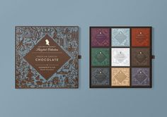 This Gorgeous Chocolate Collection is What Fairytales Are Made Of — The Dieline   Packaging & Branding Design & Innovation News