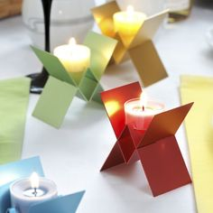 Butterfly Tea Light Holder by DesignK. Its beauty lies in its simplicity, as well as the warm light reflected in its wings.