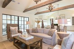 Living with neutrals and natural elements.