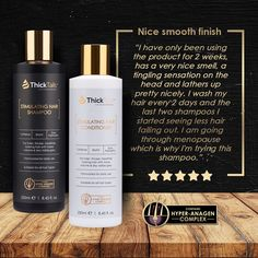 ThickTails Stimulating Hair Growth Shampoo & Conditioner (2-Pack)