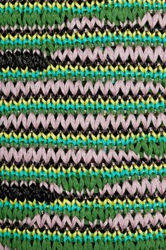 M Missoni | Knitted cotton-blend tank