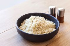 Cauliflower rice is a great alternative if you're on any low carb diets. Here's how to make it in a few easy steps.