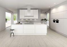 Küchen Design, House Design, New Kitchen Inspiration, Kitchen Stories, Modern Kitchen Design, Home Interior Design, Home Kitchens, Home Remodeling, New Homes