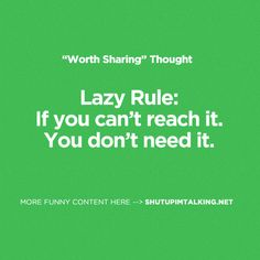 Lazy Rule