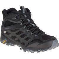 b68c592596d8 Merrell Moab FST Mid Waterproof Hiking Boots - Men s Noire