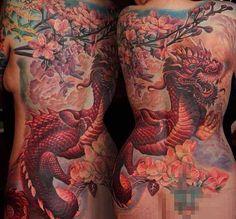 Asiatisch Part 01 – Tattoo Spirit Tree Tattoo Back, Full Back Tattoos, Monami Frost, Piercings, Japanese Tattoo Designs, Dragon Tattoo Designs, Dragon Tattoos, Oriental Tattoo, Tattoo Spirit