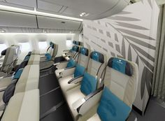 Air Austral New Premium Economy Class (Confort) http://www.air-austral.com/
