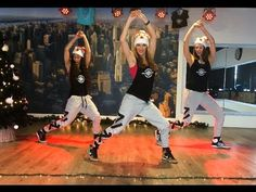 """Christmas Fitness Dance """"Britney Spears """"My only wish"""" Choreography - Wo..."""