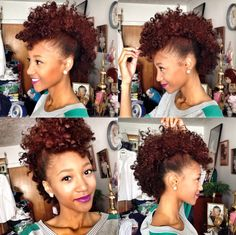 twist out with small yellow perm rods at the ends