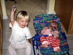 They draw on others' faces when they pass out. | 26 Reasons Kids Are Pretty Much Just Tiny Drunk Adults