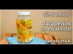 CHUCHEMAN - Como hacer Chiles Jalapeños en escabeche - Recetas Mexicanas…