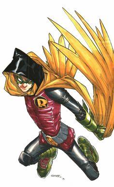 Robin (Damian Wayne) by Humberto Ramos