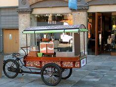 Bicycle Espresso Cart