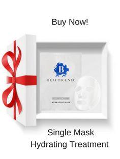 Human stem cell facial sheet masks repair, plump and renew. Targeting 4 aesthetic goals: Lifting,Moisturizing,Brightening,& Soothing.