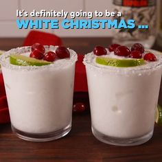 There is a Christmas version of a margarita and people are loving it White Christmas Margaritas: The recipe that means you can drink cocktails all year round Christmas Cocktails, Christmas Brunch, Christmas Appetizers, Holiday Drinks, White Christmas, Christmas Cookies, Christmas Holiday, Holiday Ideas, Winter Drinks