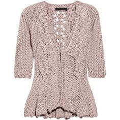 hand knit cardigan - Google Search