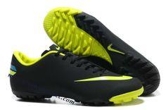 e899cb08e Nike Mercurial Vapor VIII TF - Black-Seaweed-Volt Soccer Boots