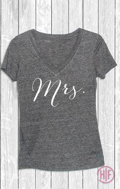 Hey, I found this really awesome Etsy listing at https://www.etsy.com/listing/213445450/mrs-deep-v-t-shirt-mrs-shirt-wifey-shirt
