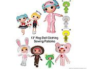 Loli Dolly Little Sister Pattern Pack by QuirkyArtistLoft on Etsy