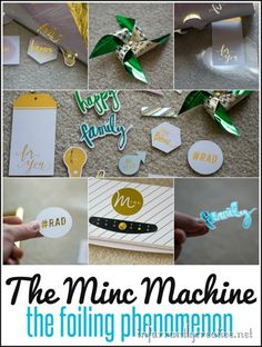 DIY Craft Products | The Minc Machine