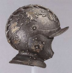 A Burgonet belonging to the Duke of Urbino, c. 1540. (Musee de l'Armee)