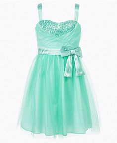 for M (father daughter dance) Ruby Rox Girls Dress, Girls Tulle Sequin Dress - Kids - Macy's
