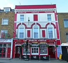 Dublin Castle Pub, Located on Parkway in Camden