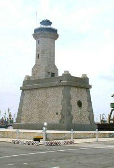 Romania - Constanţa East Pier Light City of Constanţa