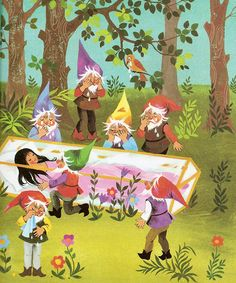 'Snow White and the 7 Dwarfs' by Felicitas Kuhn