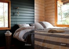 Domargård - Villa Olivia: toukokuuta 2016 Sauna Ideas, Villa, Cottage, Bed, Interior, Artisan, House, Furniture, Summer