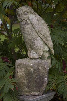 Stone Owl Garden Ornaments Cast iron frog fountain head from a unique collection of antique a rare georgian portland stone owllove owls garden statuesgarden workwithnaturefo