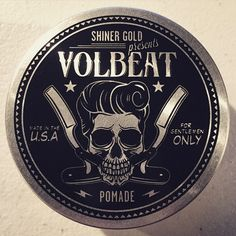 Thanks to the fine folks at #shinergoldpomade for keeping team Volbeat looking dapper this tour.