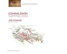 the Mill —Restaurant | Bar | Events, Hershey PA, opening Summer 2014