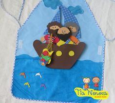 Mais de 5 histórias em 1 avental/ contém 14 peças em EVA/ Avental confeccionado com tecido bagum, cenário de Feltro com personagens bíblicos em EVA. Histórias sugeridas: 1) Jesus acalma a tempestade (Mateus 8:23-27) 2) Zaqueu (Lucas 19:1-10) 3) A cura de um leproso (Mateus 8:1-4) 4) A pesca... Little Mermaid Clipart, The Little Mermaid, Bible Quiet Book, Bible Activities For Kids, Diy Hat, Bible Crafts, Book Quilt, Bible Stories, Sunday School