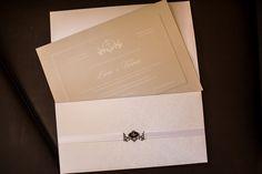 detalhe-convite de casamento-Livia&Vilmar convite clássico de casamento -
