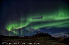 Good night my friends :-)  Aurora borealis in Iceland