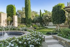 Newport Beach House Yard | Spacious yard with lush landscaping Newport Beach House, Newport Coast, Interior Architecture, Interior Design, House Yard, Lush, Home And Family, Exterior, Mansions