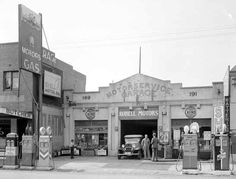 Just a car guy : A long time ago, gas stations were owned by people, not companies, not corporations, and you could choose the gasoline that appealed to you from several pump options
