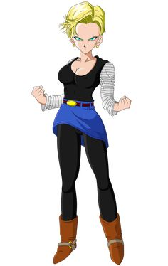 Android 18 - Dragon Ball Z (Short Haired) by ScottishSocialist on DeviantArt Dragon Ball Z, Dragon Z, Female Dragon, Android 18, Krillin And 18, Broly Movie, Adventure Time Girls, Manga Dragon, Dbz Characters