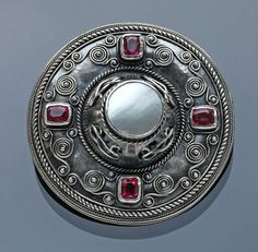 Celtic Revival Brooch by MIA CRANWILL - Tadema Gallery