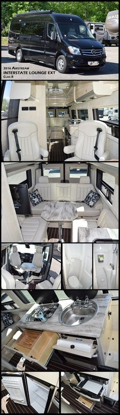 2016 INTERSTATE LOUNGE EXT by Airstream Class B