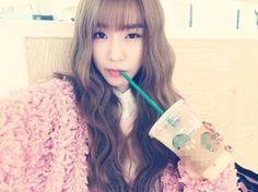 Girls' Generation's Tiffany, Lovely Wavy Hair 'Pink Girl' http://www.kpopstarz.com/articles/140257/20141122/girls-generation-tiffany-lovely-wavy-hair-pink-girl.htm